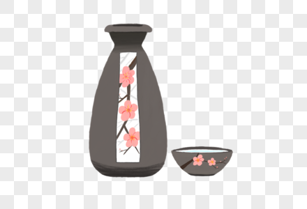 创意端午节梅子酒图片