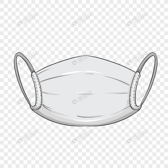 护士节质感口罩装饰素材图案图片