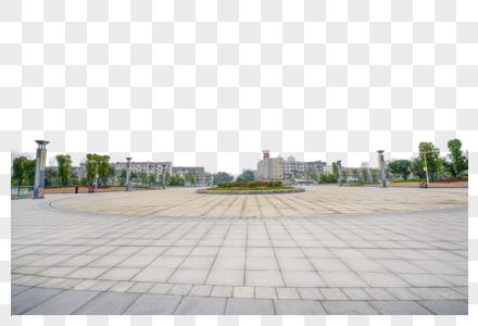 湘潭火车站站前广场图片