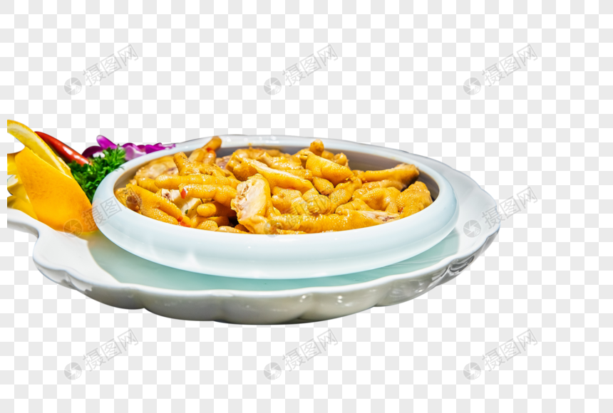 自助餐鸡爪图片