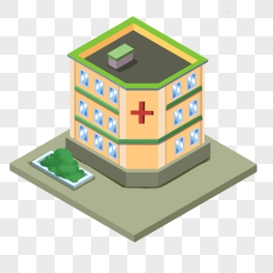 2.5D医院图片