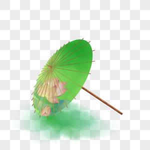 唯美古风油纸伞图片