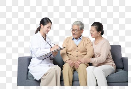 家庭医生老人护理图片
