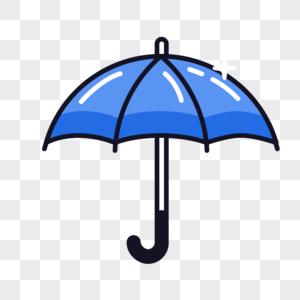 伞图标免抠矢量插画素材图片