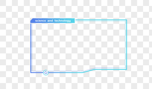 创意科技边框设计图片