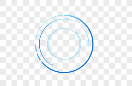 创意圆形科技边框设计图片