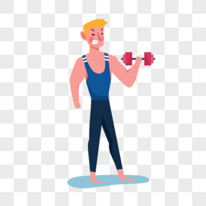健身人物图片