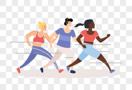 马拉松选手图片