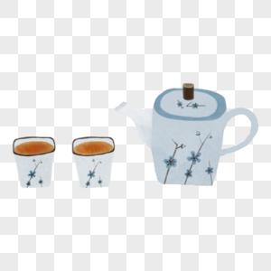 古典茶具图片