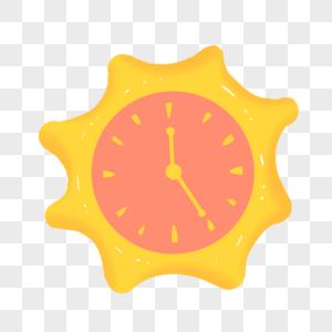 太阳闹钟图片