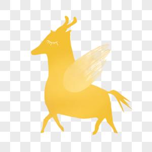 金色小飞马图片