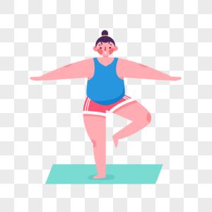 减肥人物图片