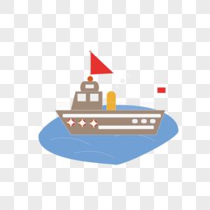 AI矢量图轮船图片