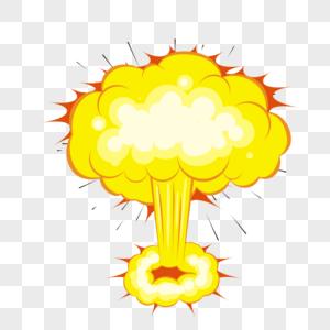 爆炸火焰图片