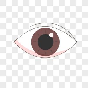 眼睛手绘插画图片