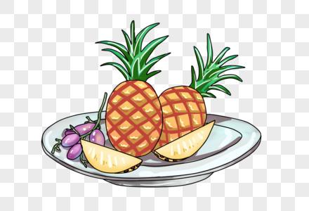 一盘水果图片