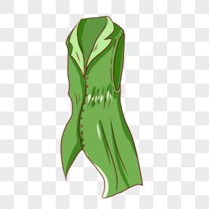 绿色长衬衫图片