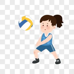 公园里的老年男女_打排球元素素材下载-正版素材400532540-摄图网