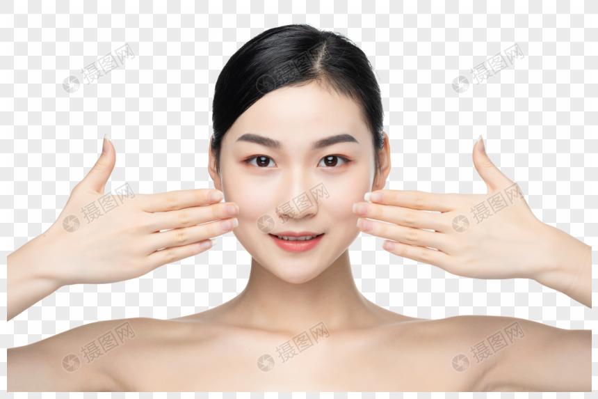 时尚女性护肤图片