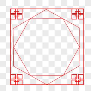 中式边框图片