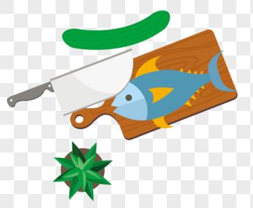 食材鱼图片