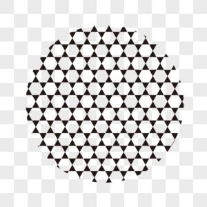 几何图形平铺背景图片