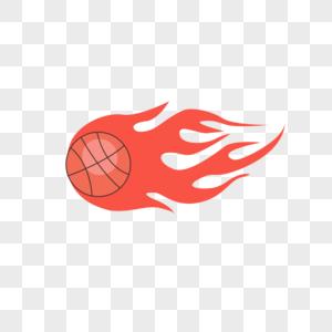篮球矢量手绘插画图片