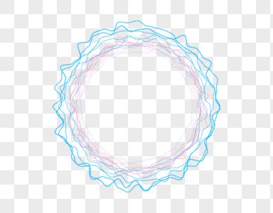 圆形波纹图片