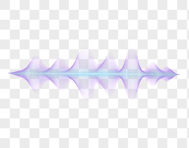 紫色波动图片