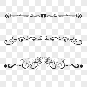 古典样式分割线图片