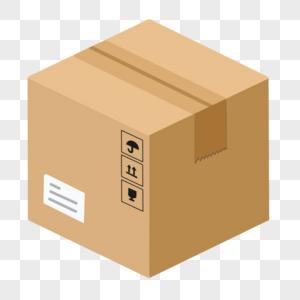 纸箱快递图片