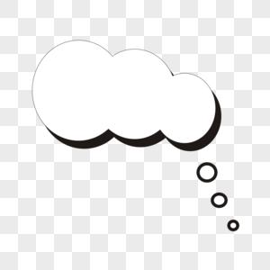 对话气泡图片