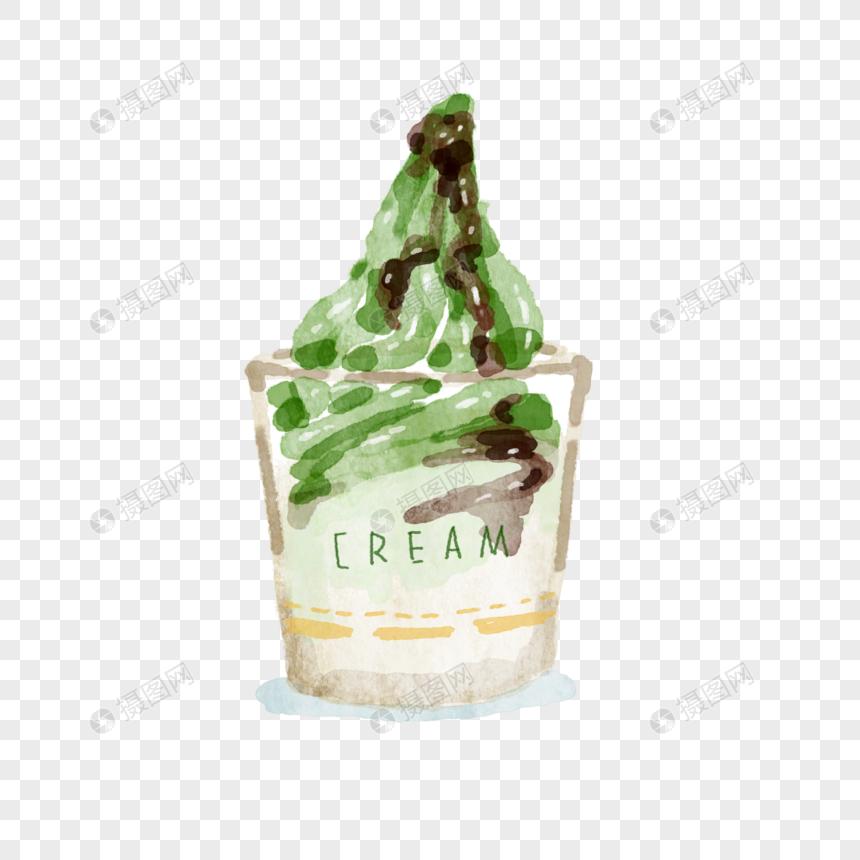 抹茶冰淇淋图库格式psd元素_设计素材免费下交通安全平面设计素材图片