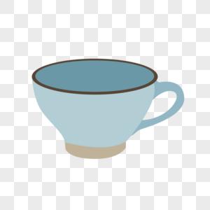 复古咖啡杯图片