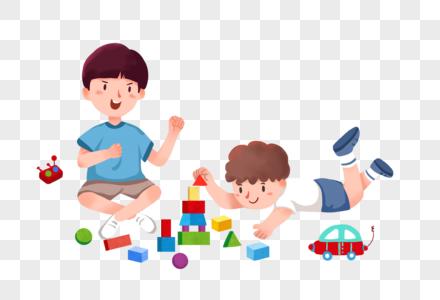 儿童节玩耍图片