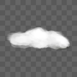 一朵云图片