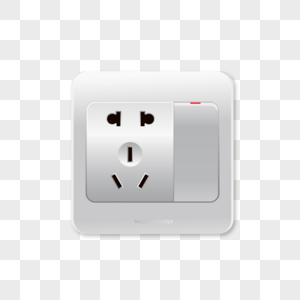 电源插座开关png矢量图图片