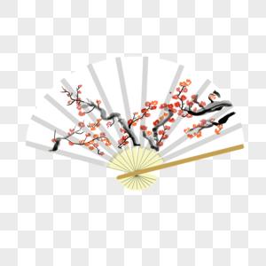 中国传统扇子图片