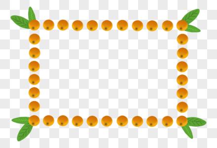 枇杷边框图片