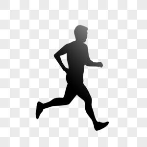 跑步的人图片