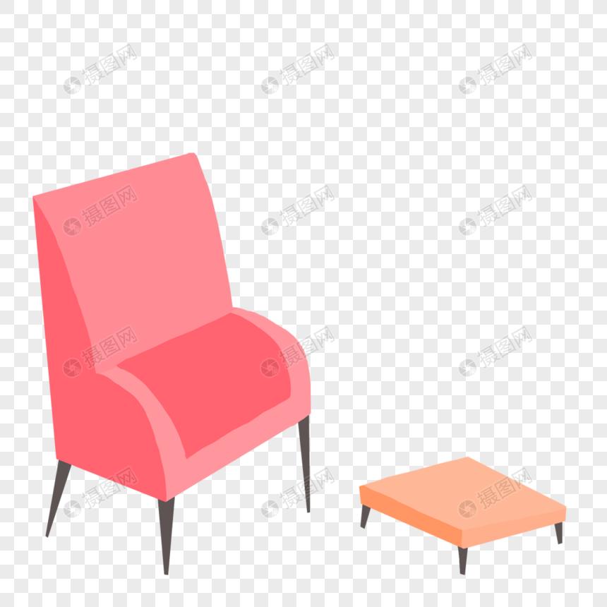 简约沙发和椅子图片