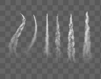 战斗机喷射尾迹图片