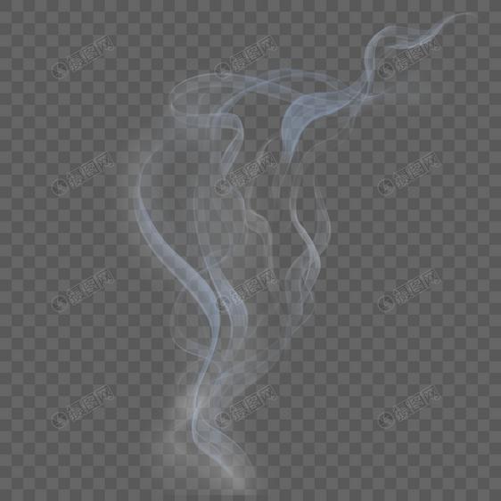 透明白色烟雾图片