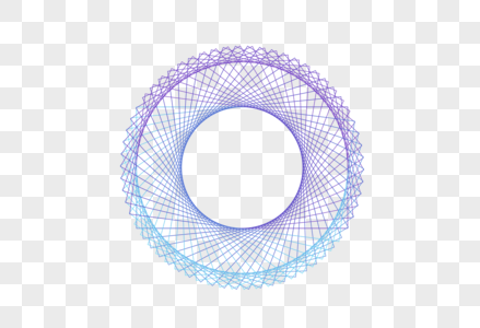 创意圆形科技线条底纹设计图片