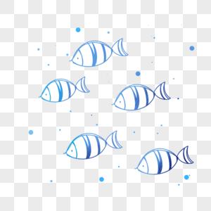 一群鱼图片