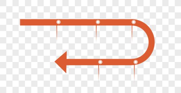 ppt元素事件标记时间轴箭头图片