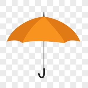 夏季生活用品黄色雨伞图片