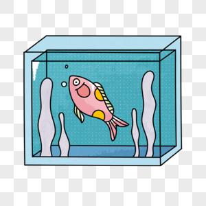 水缸里的鱼图片