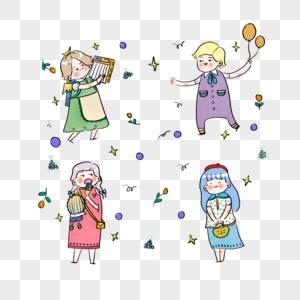 快乐的孩子们图片