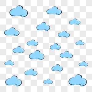 云朵漂浮图片
